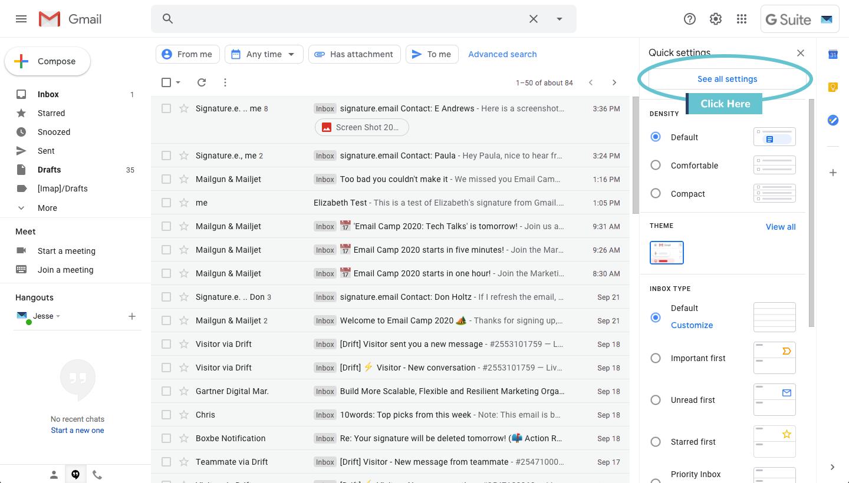 add signature to gmail step 2