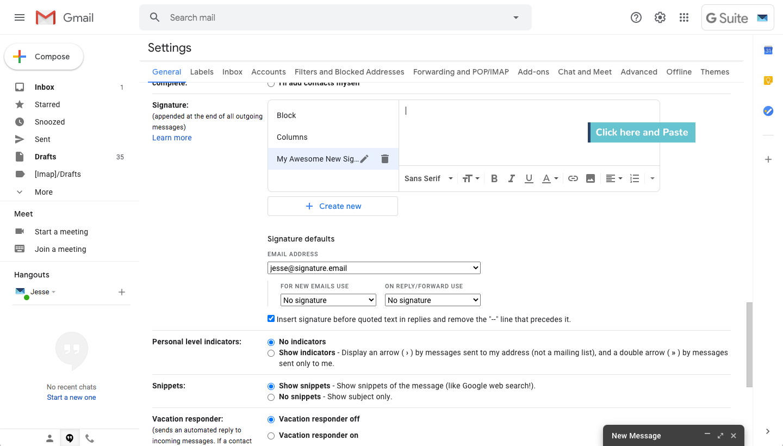 add signature to gmail step 6
