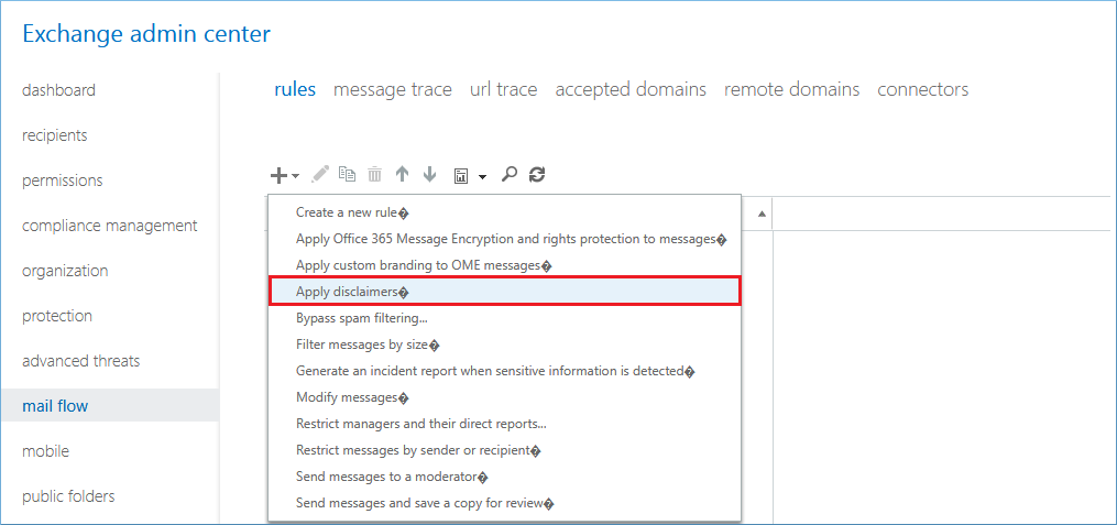 Outlook 365 Signature Rules